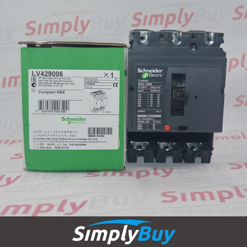 Circuit Breaker Box Nsx Mccb Nsx630f Lv432813 Compact 3p Buy Lv432813nsx