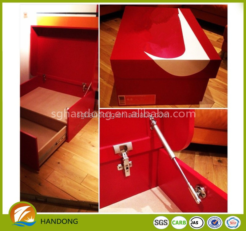 LeBron James Giant Wood Wooden Storage Sneaker Shoe Box