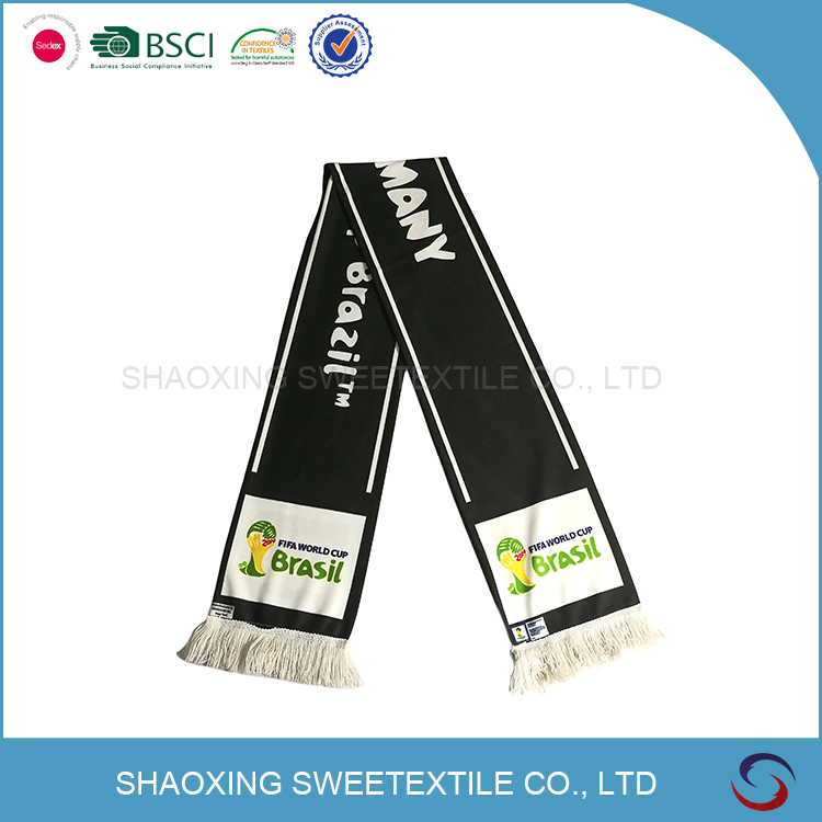 Promotional Hot Sale Football Fans Scarf