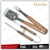 High Quality 3 pcs BBQ Tools Set With Beech Wood Handle