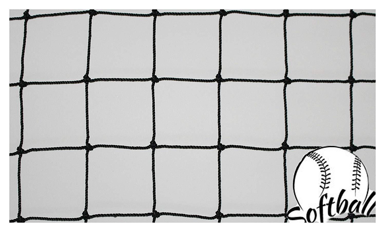 60153692c Get Quotations · Goodwin Nets 8' Twisted Knotted Nylon 1 7/8  Baseball/Softball Backstop Net