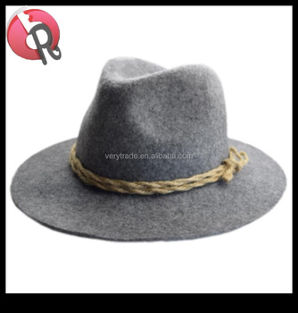 c40be1024d3e0 Classic Wide Brim Felt Fedora Hat Mens Wool Hat - Buy Mens Felt ...