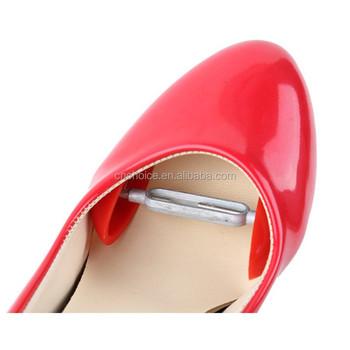 f898c28baaa 1 Pairs Simple Plastic Shoe Tree High Heels Boots Stays Stereotypes  Stretchers Width Extenders Adjustable Mini