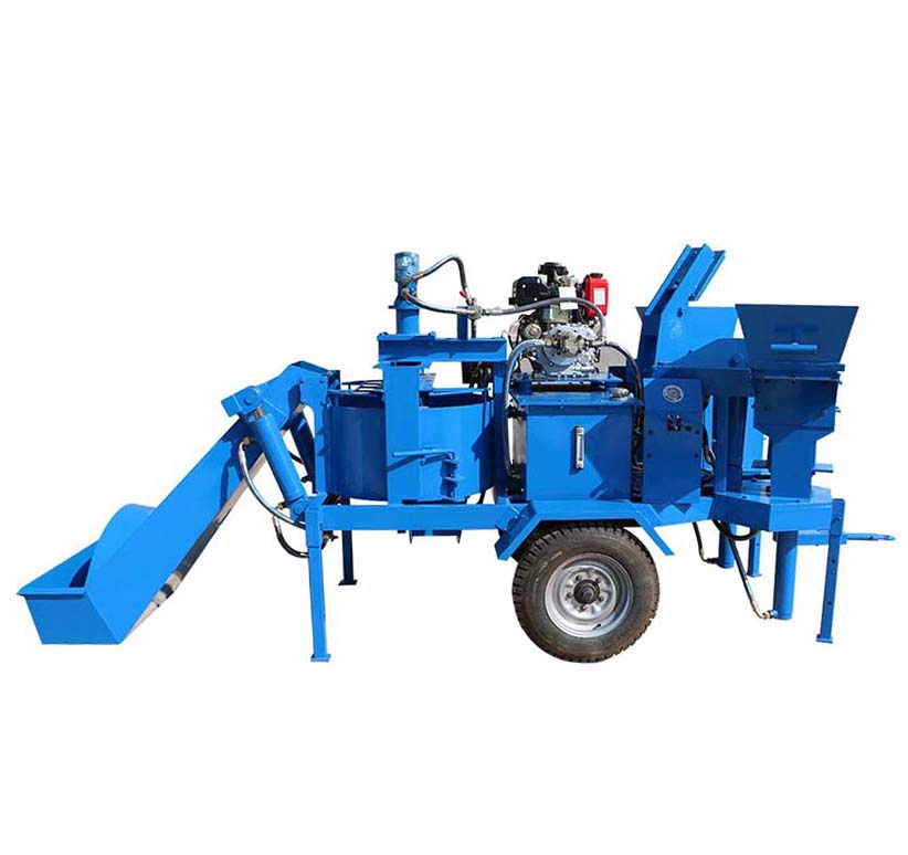 M7MI Twin diesel engine dirt brick making machine for sale in Kenya
