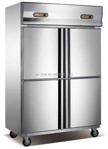 factory price 4 doors commercial refrigerator/ kitchen equipment