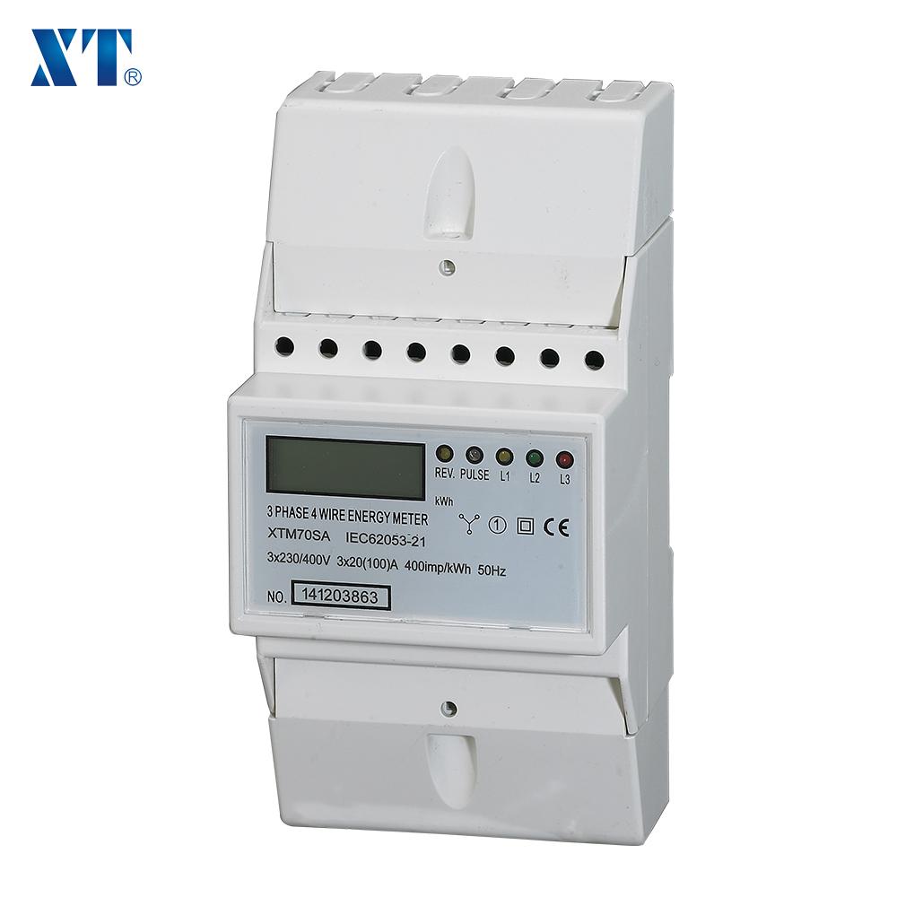 Energy Meter Expert   Three Phase Din Rail Energy Meter