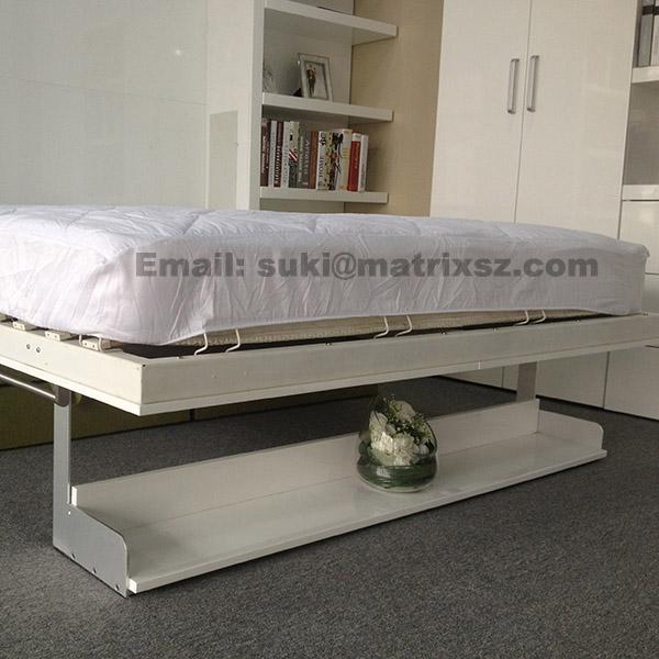 Cama plegable cama murphy para transformable ahorro de - Cama plegable pared ...
