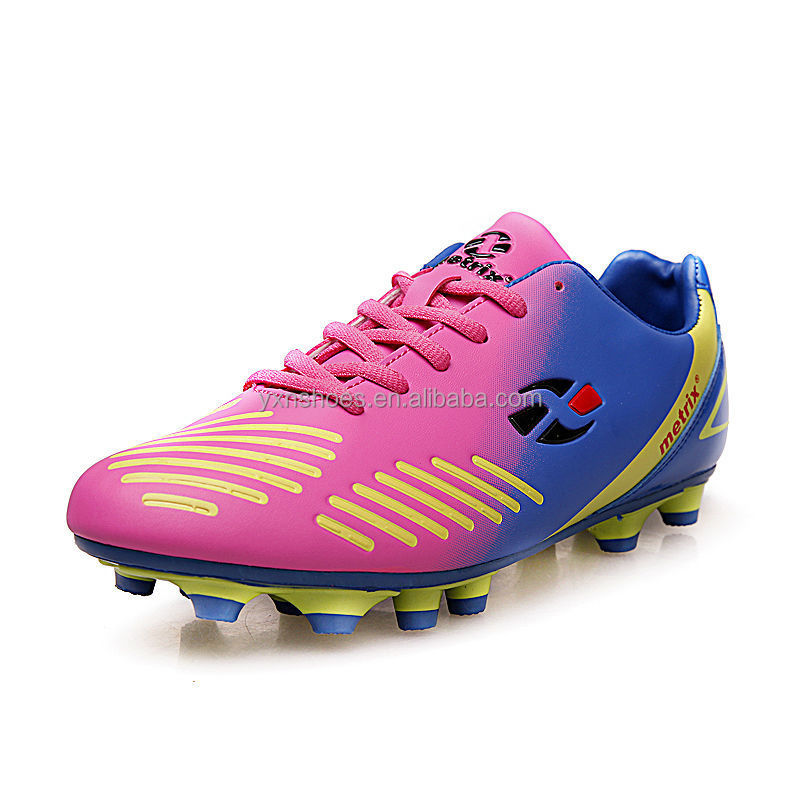fashion sport football shoe for mother with lovers children, new model brand name soccer shoes sport for women have sample