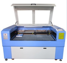 1490 double heads CO2 laser cutting and engraving machine on acrylic wood paper leather CE&FDA