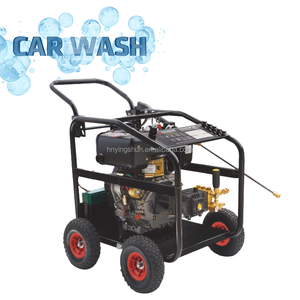 250bar/3600psi 186FE diesel high pressure washer pumps , car pressure washer