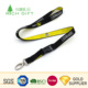 Chinese supplier custom offset printing round nylon cartoon anime lanyard with metal clip