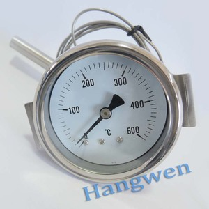 Industrial usage oven capillary pressure thermometer