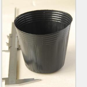 Plastic nursery pots for plant and garden