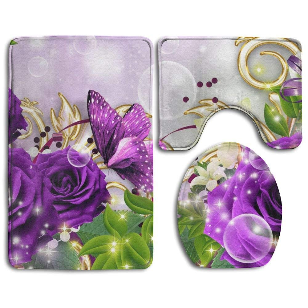 Purple Bathroom Decor Green Bathroom Accessories Sets Bathroom Decor Purple Bath In 2020 Green Bathroom Accessories Purple Bathroom Decor Silver Bathroom Accessories