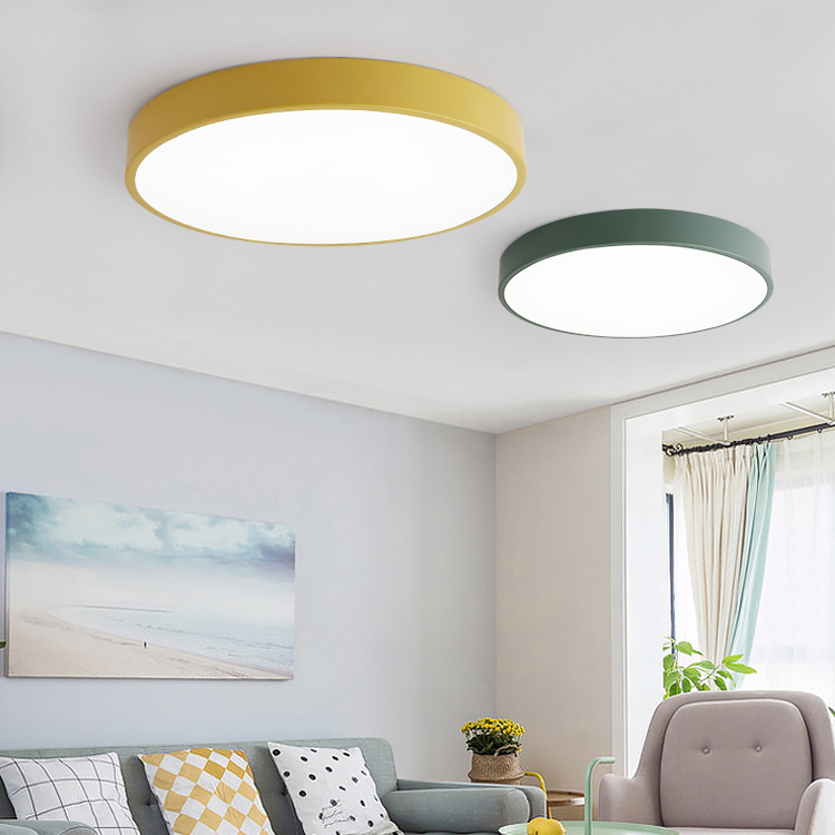 Ceiling Lights Lights & Lighting Ac 185-265v 12w 18w 24w Round Led Ceiling Lights 5cm Thin Modern Ceiling Lamp Lighting Fixture For Living Room Bedroom Wide Selection;