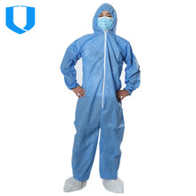 PP disposable COVERALL / workwear /work suit/ Safety coveralls