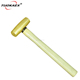 Factory direct sale non sparking Brass Mallet Hammer with wooden handle TUOKAEX Brand