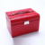 HB004 Hot sale low MOQ fashion ring storage case pu leather organizer jewelry box earring