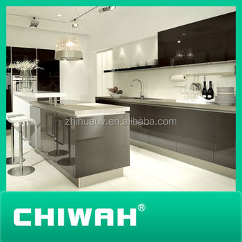 Tempered Glass For Kitchen Cabinets High Gloss Acrylic Doors - Buy ...