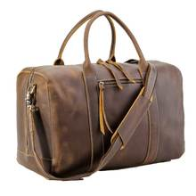 Maroquinerie En Gros Mens Cuir Week-End <span class=keywords><strong>Sac</strong></span> À Bagages En Cuir Véritable <span class=keywords><strong>Polochon</strong></span> <span class=keywords><strong>Sac</strong></span> de Voyage