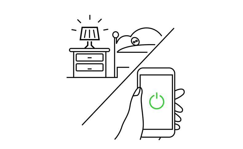 Xenon neueste intelligente elektrische Bewegungsschalter 110-220v Fernsteuerungsschalter US Wi-Fi Lichtschalter arbeiten mit Amazon Alexa