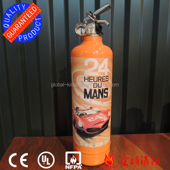 24 Hours Of Le Mans Design Mini Size Fire Extinguisher Kitchen Using ...