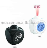 Time Speaker Projector Alarm clock