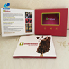 Invitation audio video business greeting cards video booklet lcd brochures