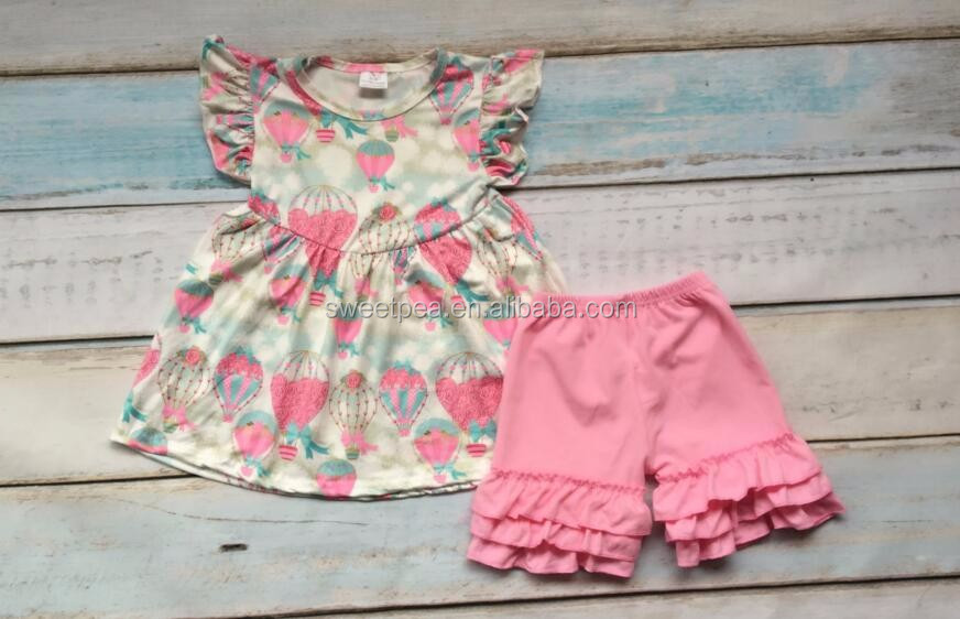 pearl tunic girls outfits baby girls hot balloon boutique clothes set giggle moon remake children clothing sets