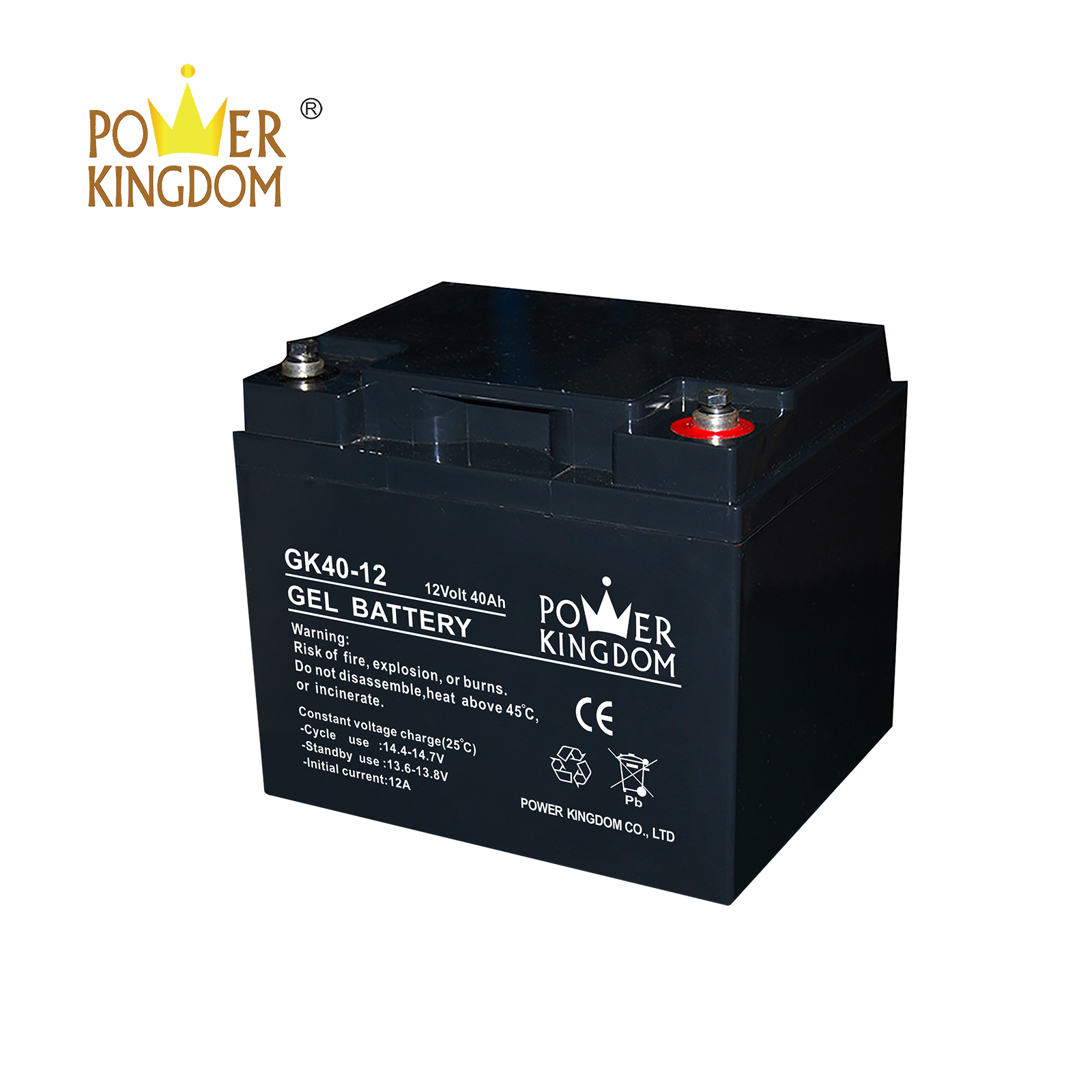 Power Kingdom lead acid battery low voltage for business wind power system-2
