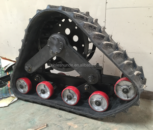 Crawler Track System Triangle Track