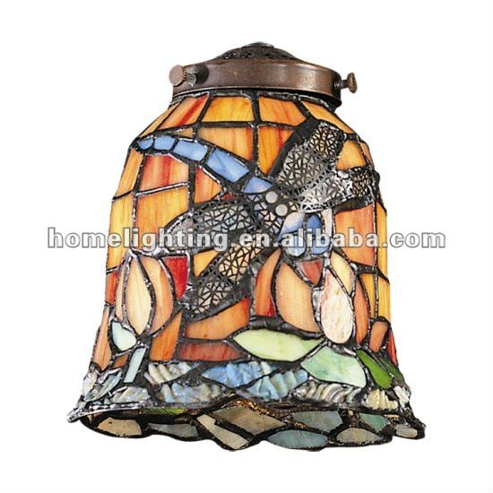 Tfs 055 Tiffany Dragonfly Stained Glass Table Lamp Shade Chandelier