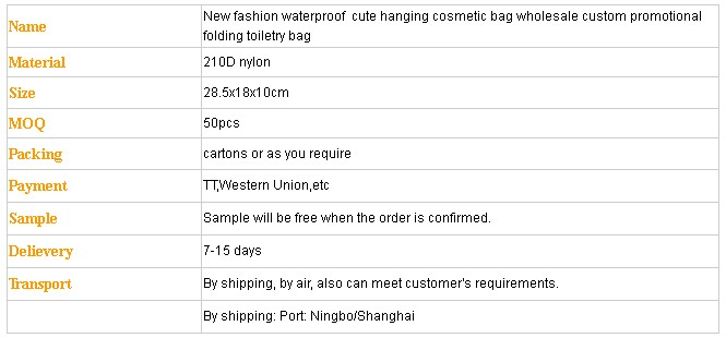2019 Hot new Multi-function makeup organizer bag cosmetic pouch bag  waterproof hanging travel toiletry bag