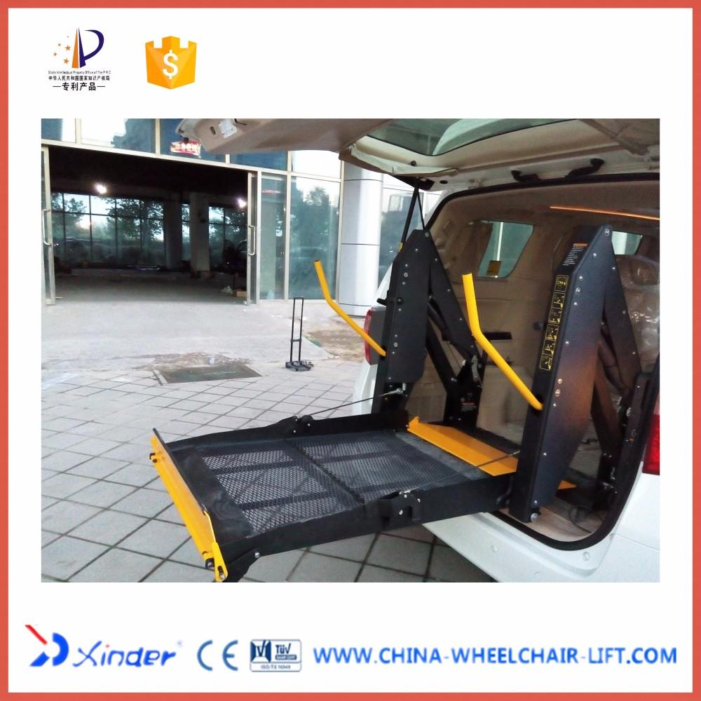 dn 880u hydraulique double bras l vateur pour fauteuils roulants pour van et minibus voiture. Black Bedroom Furniture Sets. Home Design Ideas
