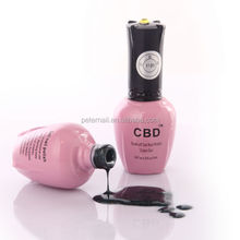 Fashionable CBD new arrival hot selling oil based nail polish