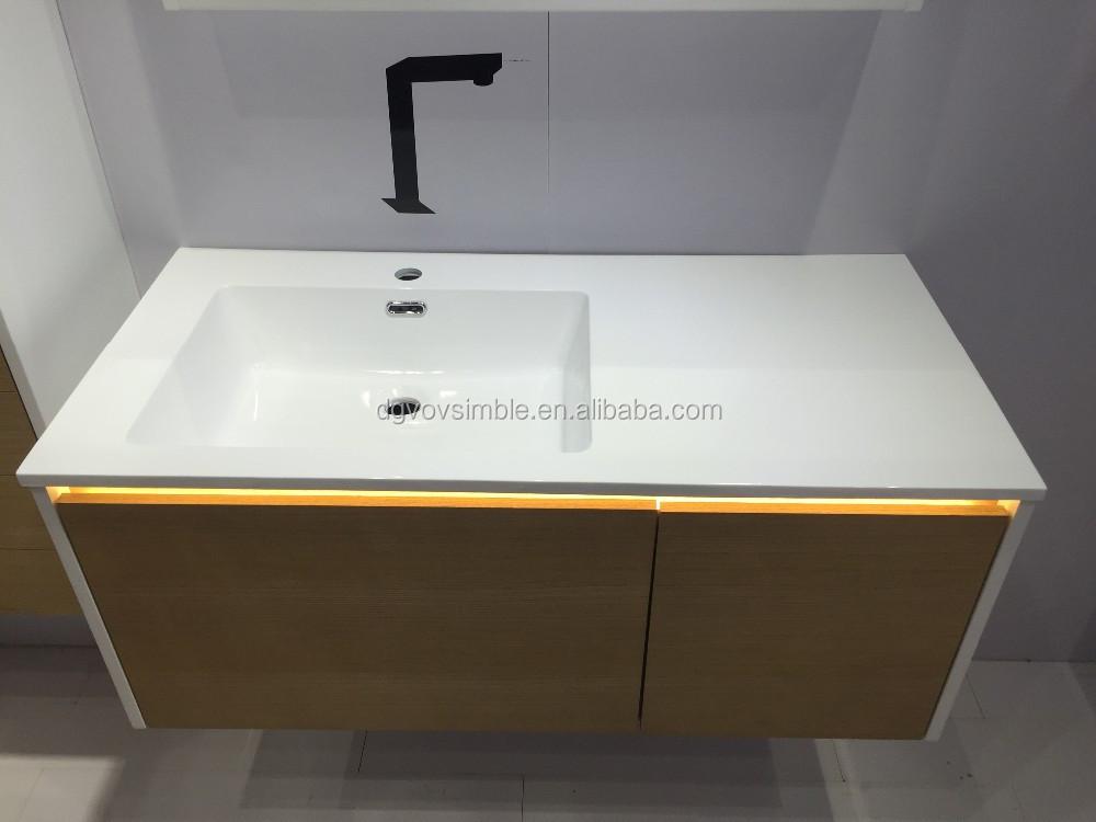 Modern wood bathroom vanity sets buy bathroom vanity for Affordable vanity sets