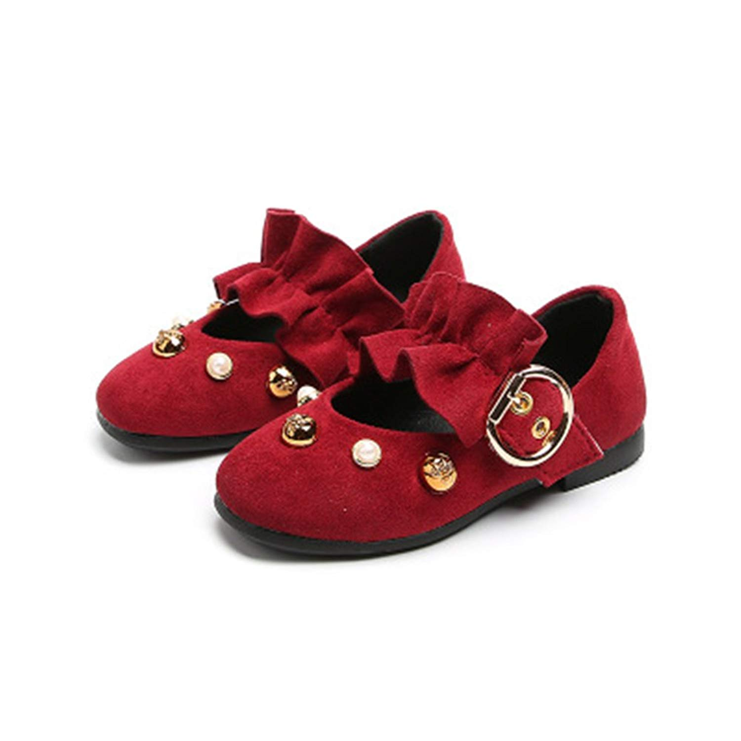 Get Quotations · Believed Girl Flat Shoes Toddler Princess Shoes Kids  Children Shoes Dress Shoes Kids Party Dance Mary 1971a2af071a