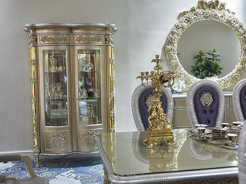 Gdm014 luxury classica royal barocco poltrona sedia da pranzo in legno in stile francese mobili - Mobili in stile francese ...