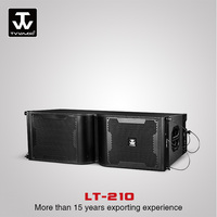 Dual 10inch powered line array speaker line array sound