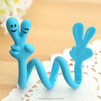 Creative fashion gesture cable tie tool cable tie mould self locking cable tie