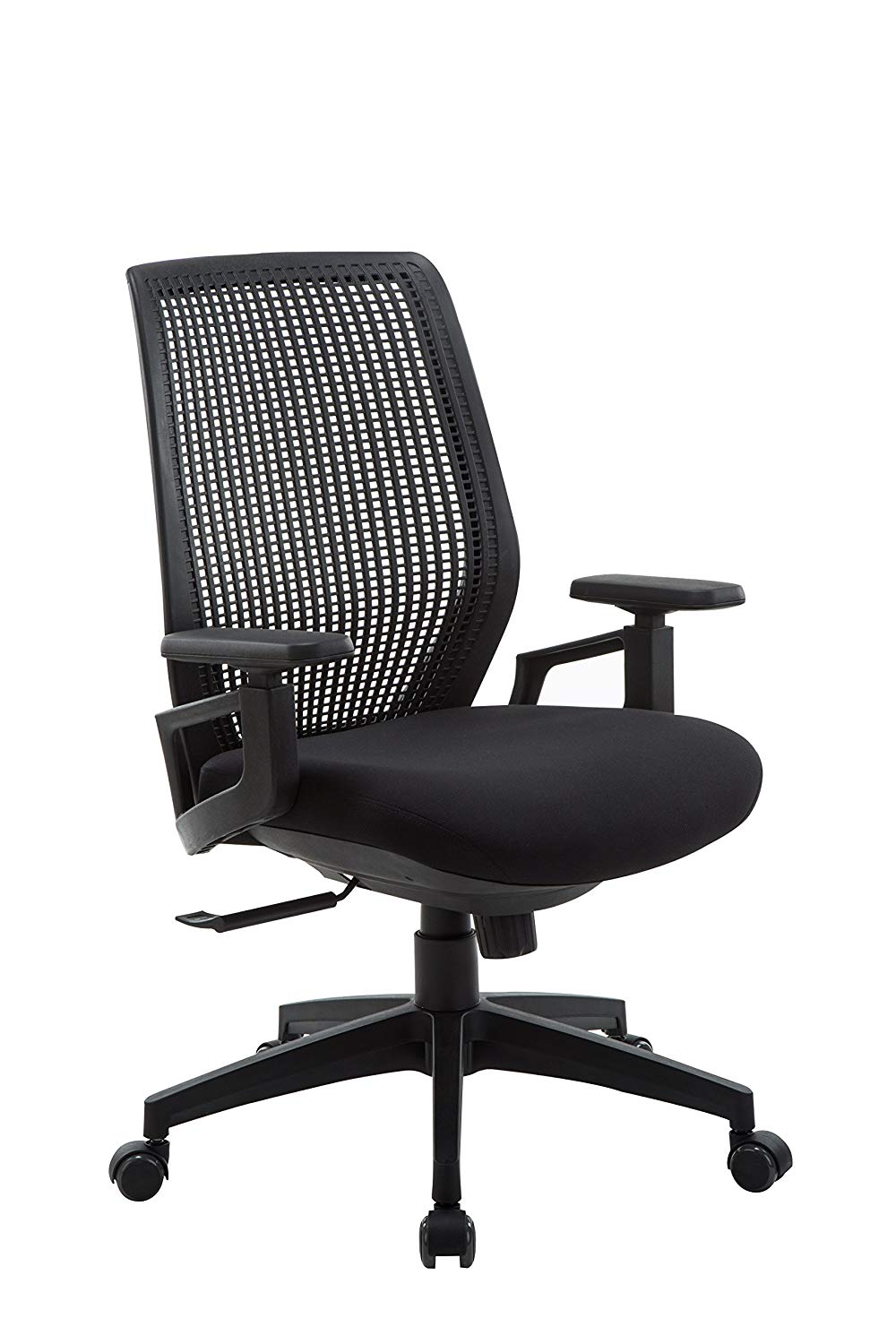 Office Factor Ergonomic Office Chair, High Back Mesh Computer Chair, Fully Adjustable Polypropylene Ventilated Mesh Back Executive Chair for Home & Office, Breathable Office Task Chair
