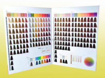 Oem Manufacturer Salon Professional Hair Dye Color Chart/color ...