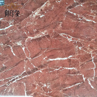 Ceramic Polished Tiles Material and Interior Tiles Usage Spanish Red&White Tiles