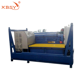 Fully Hydraulic centrifuge for drilling fluid