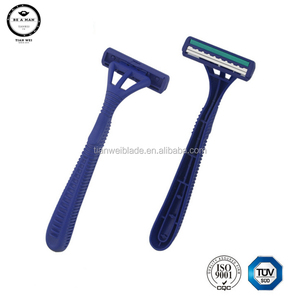 Good Design Disposable Safety Men Shaving Razor Plastic Shaving Razor Good Design Plastic Handle Disposable Razor