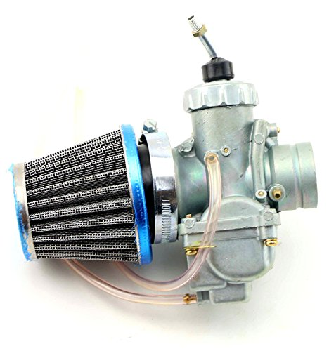 QKPARTS Carb Yamaha W/ Air Filter fits DT100 DT 100 Enduro Carburetor