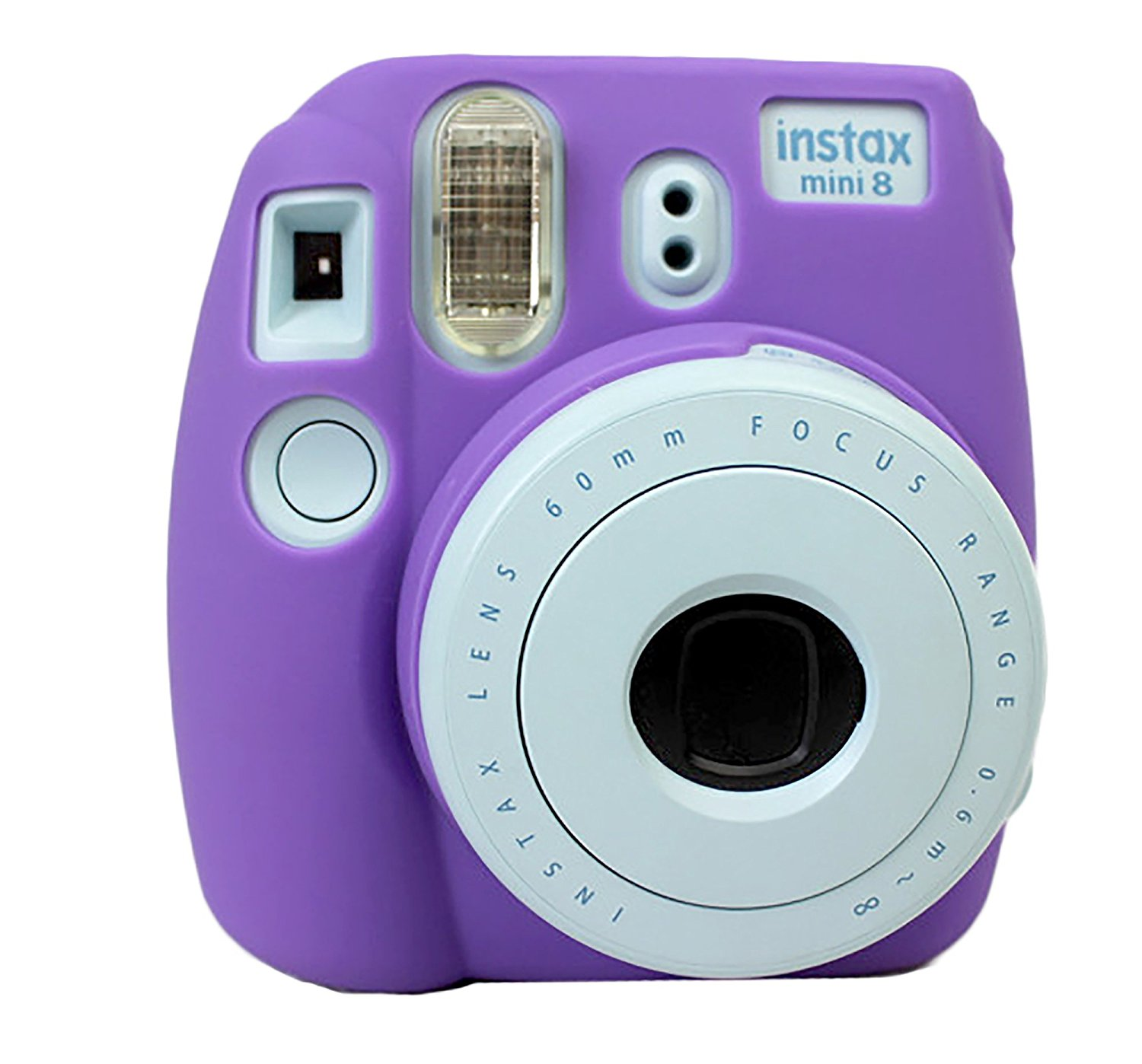 Protective Silicone Gel Rubber Soft Camera Case Cover Bag For Fujifilm Fuji Instax Mini 8 Camera