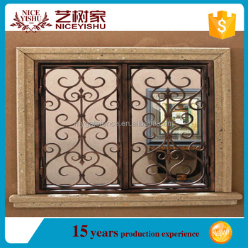 Allibabacom 2016 Latest Window Grill Designiron Window Grill With