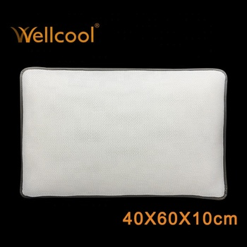wellcool spacer mesh fabric contour pillow