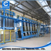 bitumen waterproofing materials machine, SBS membrane plant, building material production line